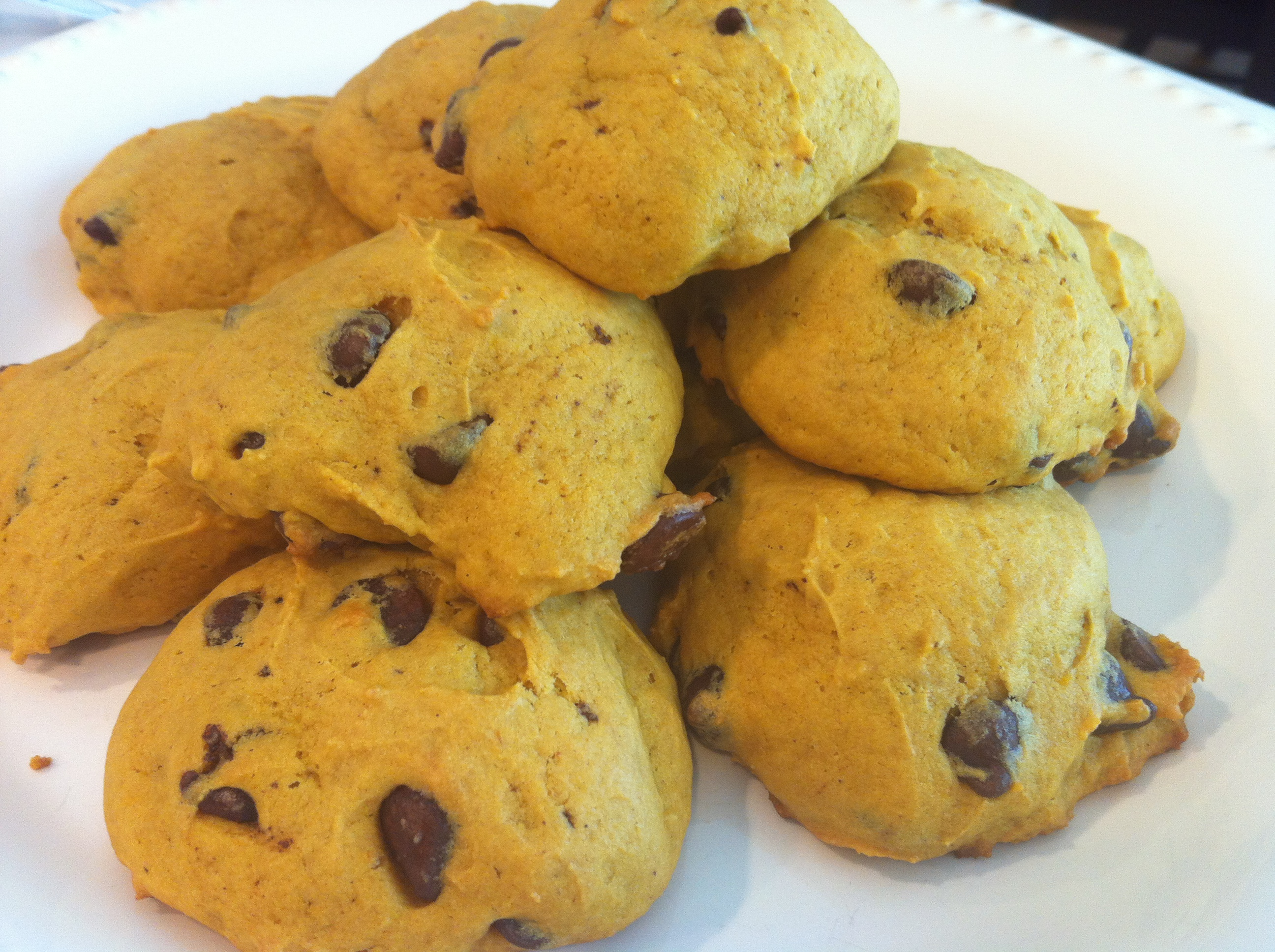 Pumpkin Chocolate Chip Cookies |